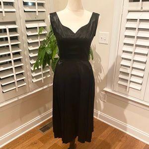 New Stop Starting! Black satin dress size s